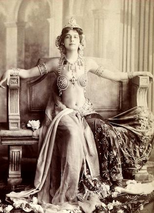 Mata-Hari's lover...