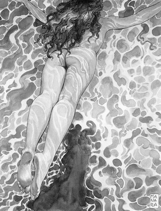 Nudist Swimming Pool