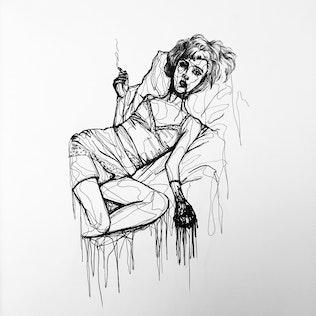 The Smoking Sorceress